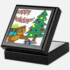Happy Holidays! Keepsake Box