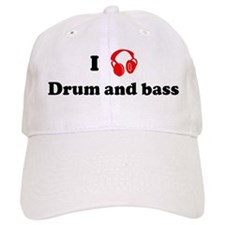 Drum and bass music Baseball Cap