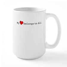 My Heart Belongs To Ali Mug