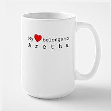 My Heart Belongs To Aretha Ceramic Mugs
