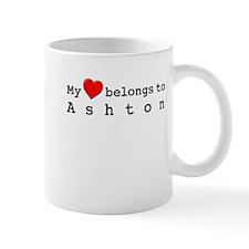 My Heart Belongs To Ashton Mug