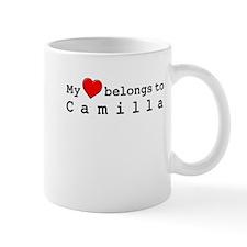 My Heart Belongs To Camilla Mug
