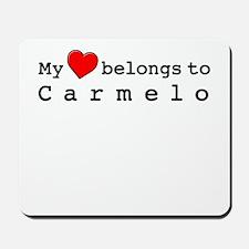 My Heart Belongs To Carmelo Mousepad