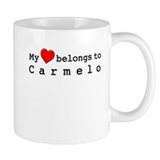 My Heart Belongs To Carmelo Mug
