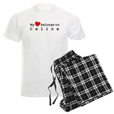 My Heart Belongs To Celine pajamas