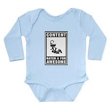 Plumbing Long Sleeve Infant Bodysuit
