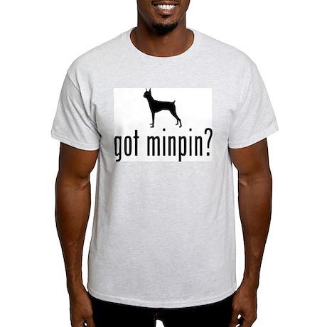 Miniature Pinscher Ash Grey T-Shirt