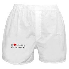 My Heart Belongs To Cristobal Boxer Shorts
