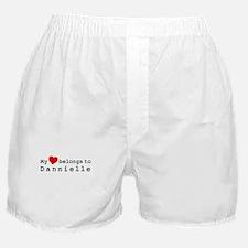 My Heart Belongs To Dannielle Boxer Shorts