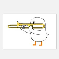 Trombone Player Postcards (Package of 8)