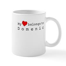 My Heart Belongs To Domenic Small Mug