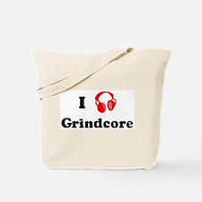 Grindcore music Tote Bag
