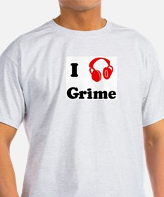 Grime music Ash Grey T-Shirt