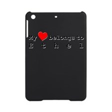 My Heart Belongs To Ethel iPad Mini Case