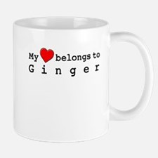 My Heart Belongs To Ginger Mug
