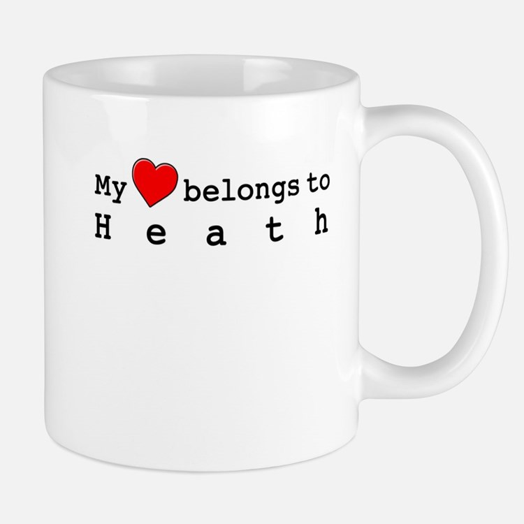 My Heart Belongs To Heath Mug