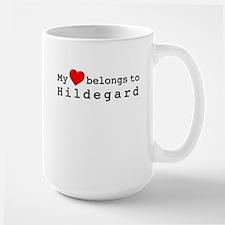 My Heart Belongs To Hildegard Mug