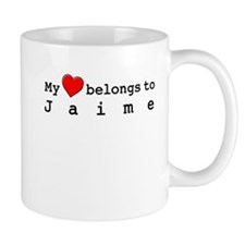 My Heart Belongs To Jaime Mug