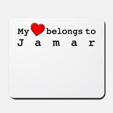 My Heart Belongs To Jamar Mousepad