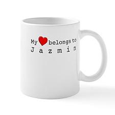 My Heart Belongs To Jazmin Mug