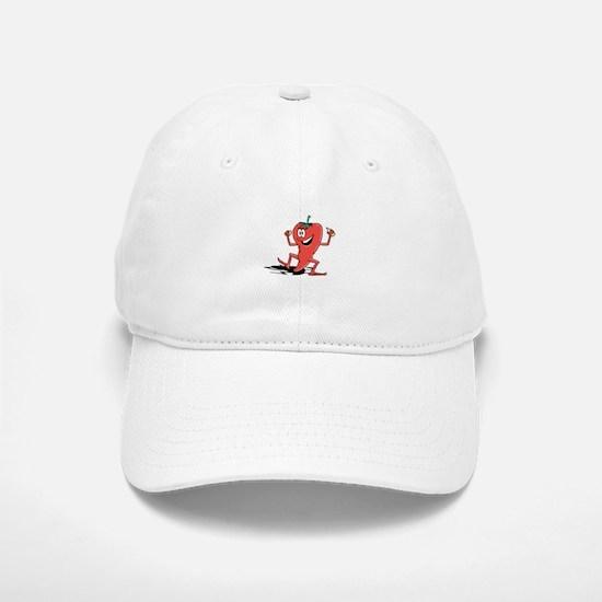 Happy Chili Pepper Baseball Baseball Cap