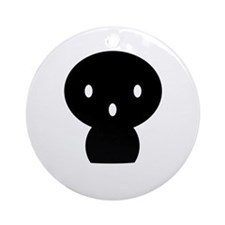 Lil' Spooky (shadow people) Ornament (Round)
