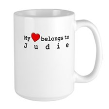 My Heart Belongs To Judie Mug