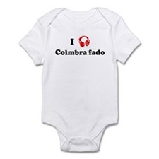 Coimbra fado music Infant Bodysuit