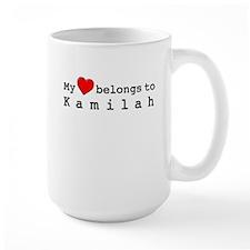 My Heart Belongs To Kamilah Mug