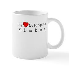 My Heart Belongs To Kimber Mug