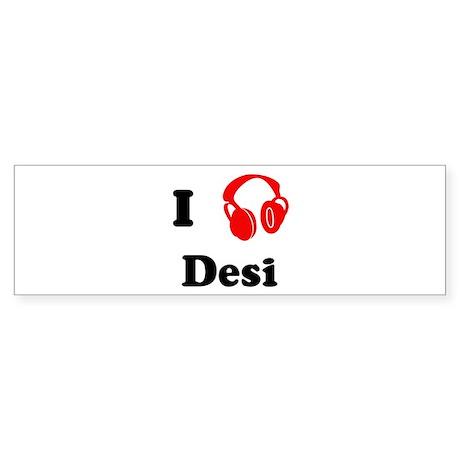Desi music Bumper Sticker