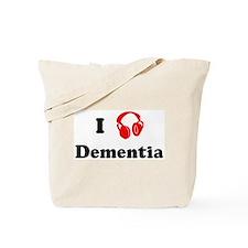 Dementia music Tote Bag