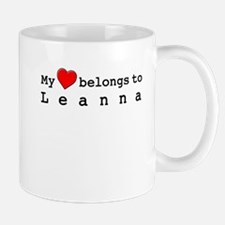 My Heart Belongs To Leanna Mug