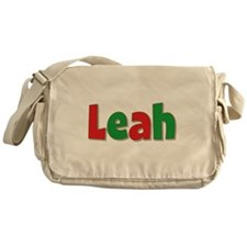 Leah Christmas Messenger Bag