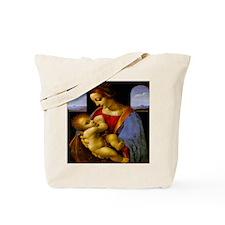 Madonna Litta by da Vinci Tote Bag
