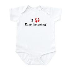 Easy listening music Infant Bodysuit