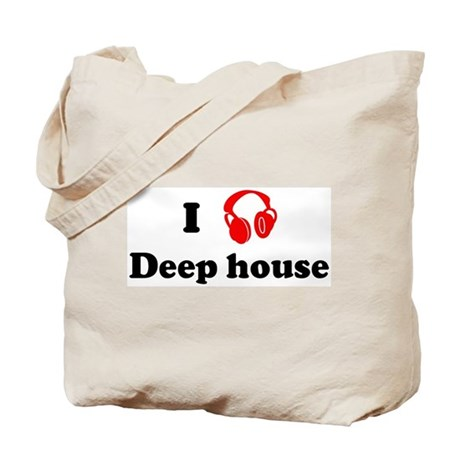 Deep house music tote bag by iloveshirts for 90s deep house music