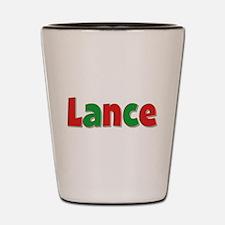 Lance Christmas Shot Glass