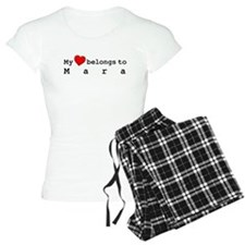 My Heart Belongs To Mara Pajamas
