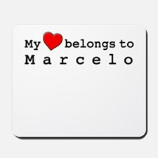 My Heart Belongs To Marcelo Mousepad