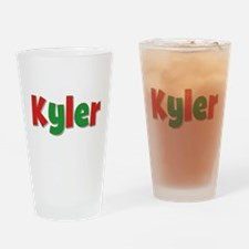 Kyler Christmas Drinking Glass