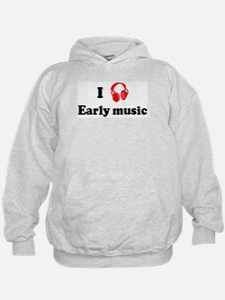 Early music music Hoodie