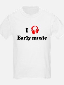 Early music music Kids T-Shirt