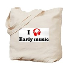 Early music music Tote Bag