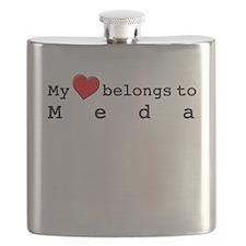 My Heart Belongs To Meda Flask