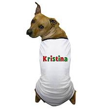 Kristina Christmas Dog T-Shirt