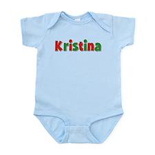 Kristina Christmas Infant Bodysuit