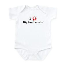 Big band music music Infant Bodysuit