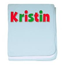 Kristin Christmas baby blanket