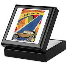 Erskine Six '27 Art Deco Studebaker Sedan Keepsake